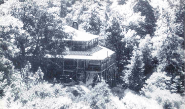 Camp Mozumdar Lodge building