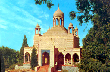 Temple of Christ at Camp Mozumdar, color
